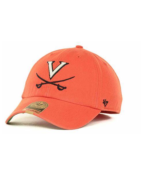 47 Brand Virginia Cavaliers Franchise Cap - Sports Fan Shop By Lids ... b0666acdb