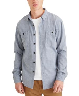 Men's Two-Pocket Plaid Shirt