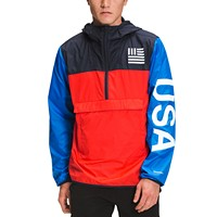 Deals on The North Face International Collection Colorblocked DWR Anorak