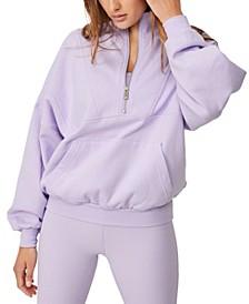 Women's Lifestyle Half Zip Fleece Top