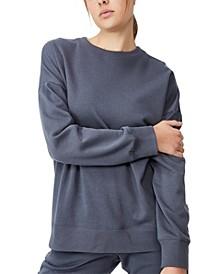 Women's Lifestyle Long Sleeve Crew Top