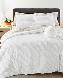 Zebra 3-Pc. King Comforter Set, Created for Macy's