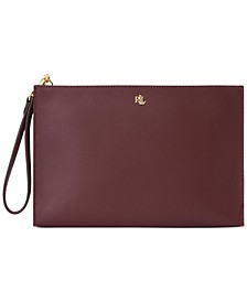 Leather Large Pouch