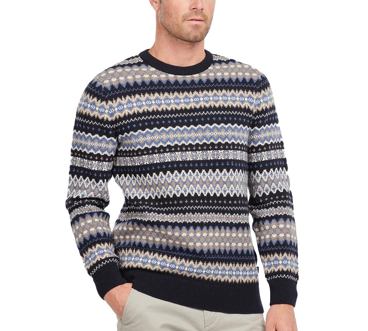1920s Men's Style Clothing Barbour Mens Fair Isle Sweater $125.00 AT vintagedancer.com