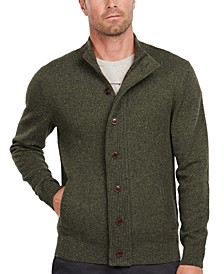 Men's Tisbury Regular-Fit Flecked Full-Zip Sweater