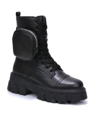 Women's Monalisa Combat Boots Women's Shoes