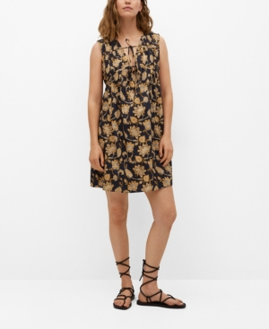 Women's Cotton Midi Dress