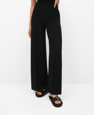 Women's Pleated Culottes Pants
