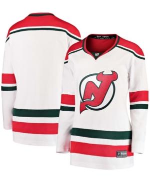 Women's White New Jersey Devils Alternate Breakaway Player Jersey