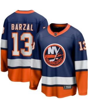 Men's Mathew Barzal Orange New York Islanders 2020/21 Special Edition Breakaway Player Jersey