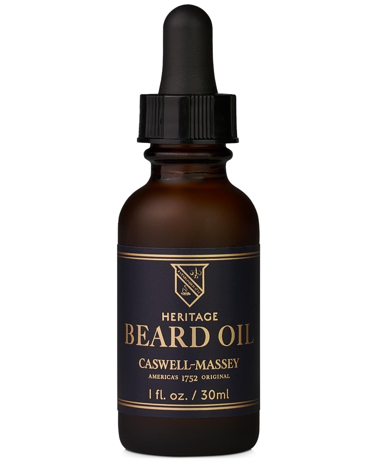 Caswell Massey Heritage Beard Oil, 1-oz.