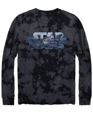 Men's Star Wars Child Logo Long Sleeve Graphic T-shirt