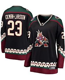 Women's Oliver Ekman-Larsson Black Arizona Coyotes Breakaway Alternate Player Jersey