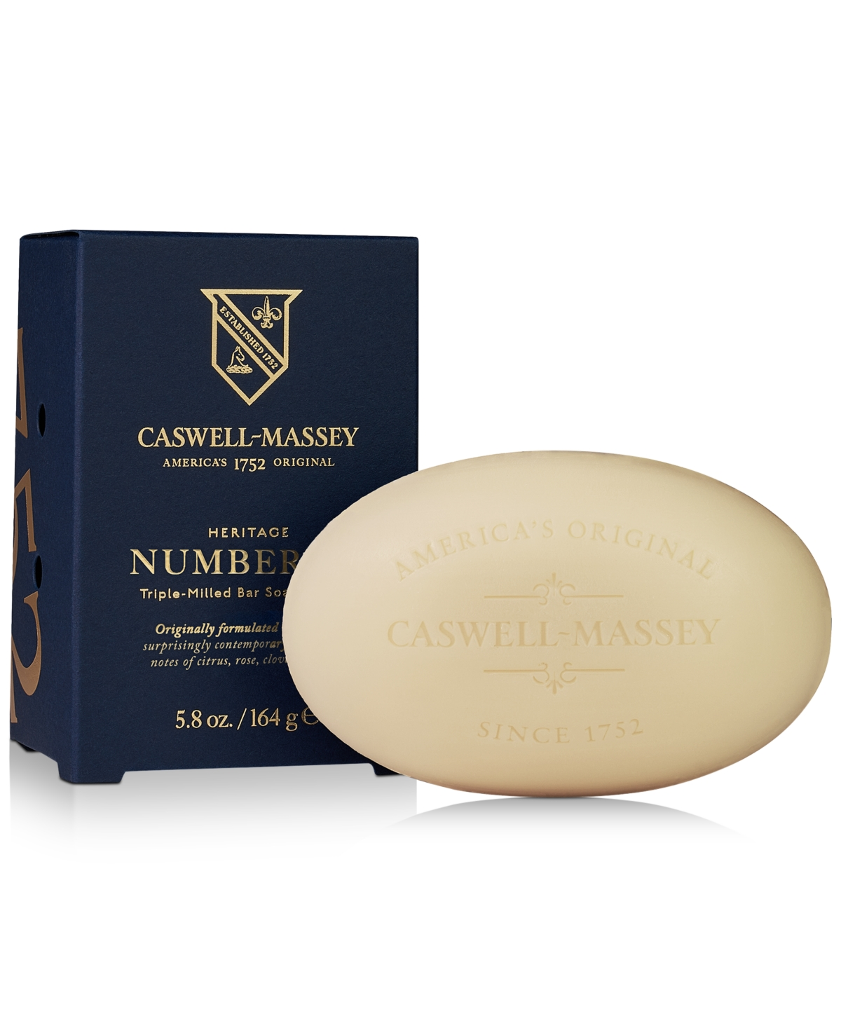 Caswell Massey Heritage Number Six Bar Soap, 5.8-oz.