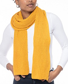 Solid Ribbed Muffler Scarf, Created for Macy's