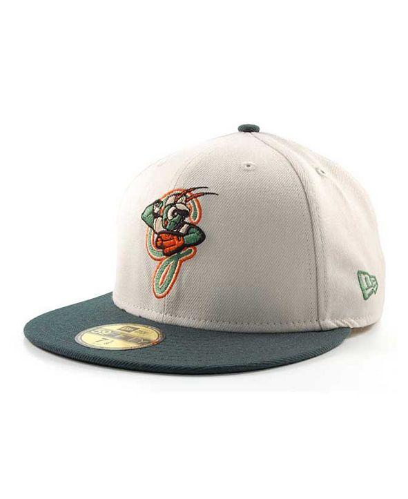 New Era Greensboro Grasshoppers MiLB 59FIFTY Cap