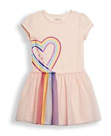 Toddler Girls Graphic Tutu Dress