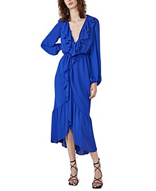 Sophya Midi Wrap Dress