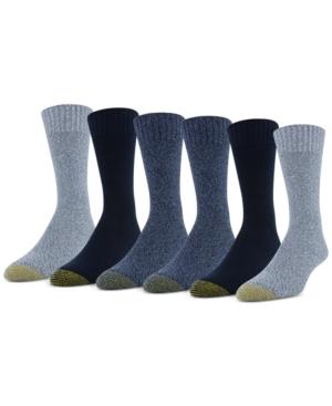 Men's Six-Pack Hudson Crew Socks