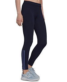 Women's Essentials Fitted 3-Stripes 7/8 Leggings