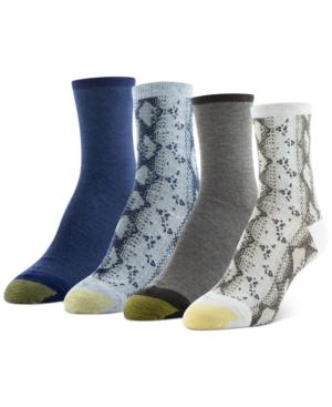4-Pk. Snake Midi Socks