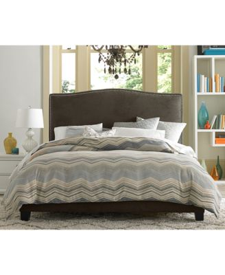 cory upholstered bedroom furniture collection