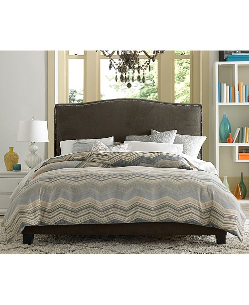furniture cory upholstered bedroom furniture collection
