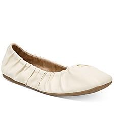 Women's Aubrie Square-Toe Ballet Flats