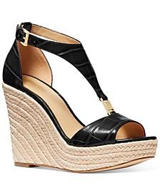 Women's Fanning Espadrille Wedge Sandals
