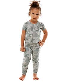 Toddler Girls 2-Pc. Mommy & Me Printed Pajama Set