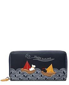 Women's Large Ziptop Matinee Wallet