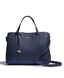 Women's Medium Open Top Multiway Satchel Handbag