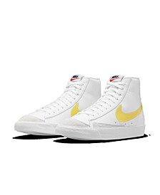 Women's Blazer Mid 77 Essential High Top Casual Sneakers from Finish Line