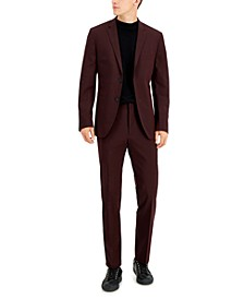 Men's Very Slim-Fit Micro-Stripe Suit
