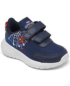 Toddler Boys Marvel Spiderman Tensaur Run Stay-Put Running Sneakers from Finish Line