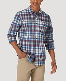 Men's Long Sleeve Two Pocket Utility Shirt