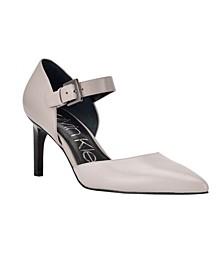 Women's Sekin Ankle Strap D'Orsay Pumps