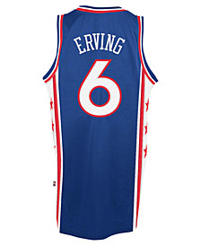 adidas Men's Julius Erving Philadelphia 76ers Retired Player Swingman Jersey