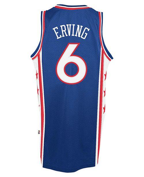 da03c1d6f7c adidas Men s Julius Erving Philadelphia 76ers Retired Player Swingman Jersey