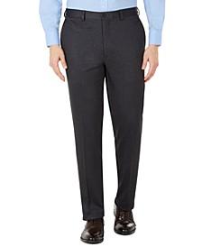 Men's Knit Slim-Fit Suit Separate Pants