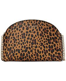 Spencer Leopard Dome Crossbody