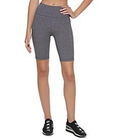 Sport Women's Ombré-Logo High-Waist Bike Shorts