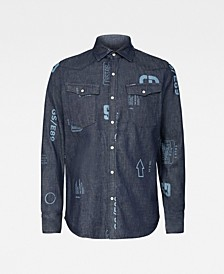 Men's 3301 Long Sleeves Slim Fit Shirt