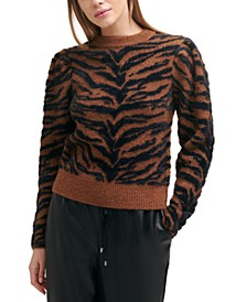 Textured Tiger Sweater