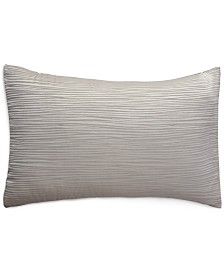 Donna Karan Home Reflection Silver King Sham