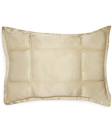 CLOSEOUT! Home Reflection Ivory Quilted Standard/Queen Sham