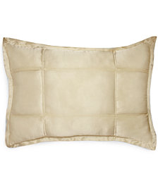 CLOSEOUT! Donna Karan Home Reflection Ivory Quilted Standard/Queen Sham