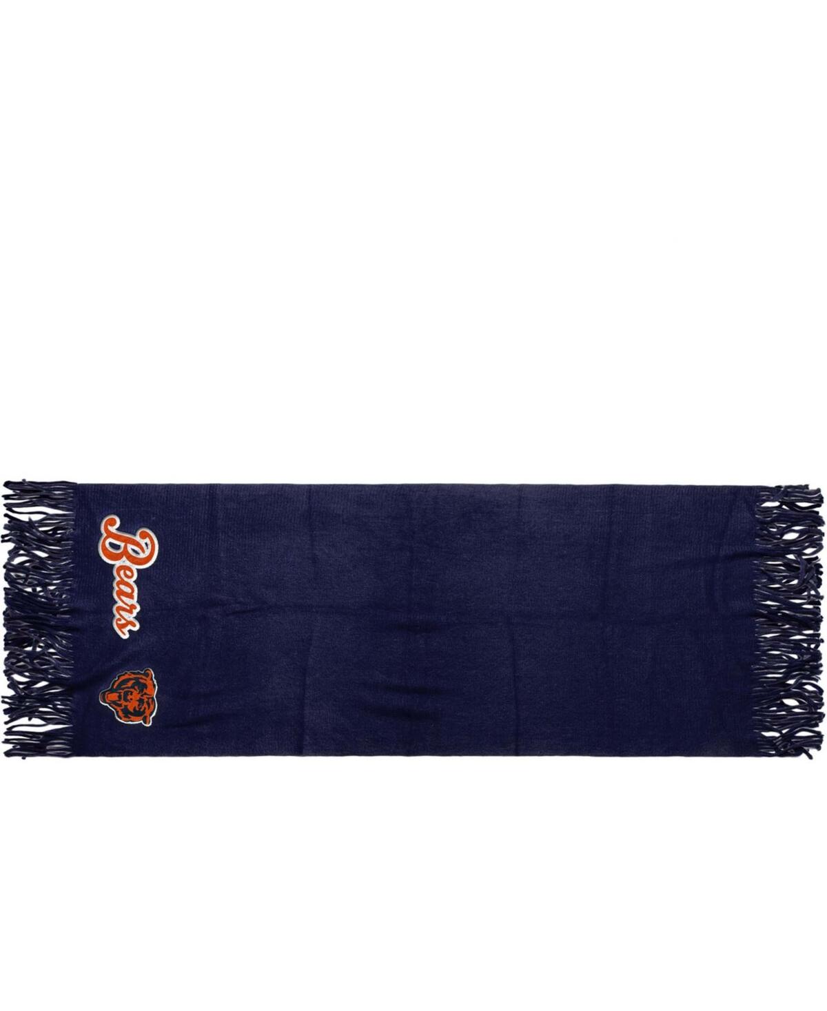 Foco Chicago Bears Oversized Fringed Scarf