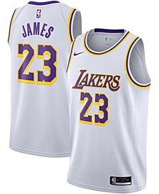 Men's Los Angeles Lakers Swingman Jersey Association Edition - LeBron James