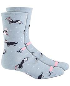 Snow Dog Socks, Created for Macy's